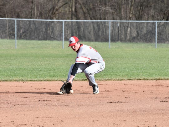 SJCC's Zach Militello was one of three seniors last season.