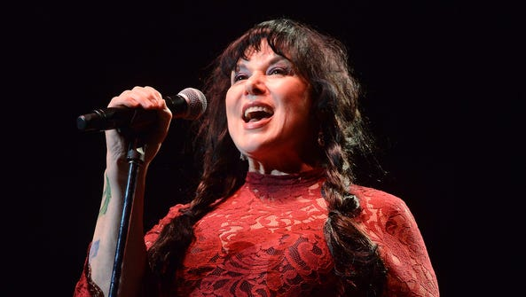 Ann Wilson performs at Paramount Hudson Valley stage