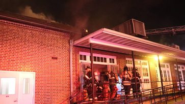 Two-alarm fire damages University of Delaware building