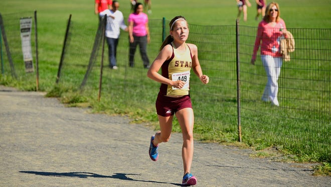 Kaitlin O'Grady, a North Rockland alumna, will represent St. Thomas Aquinas College at the 2015 NCAA Division II Cross Country Championships.