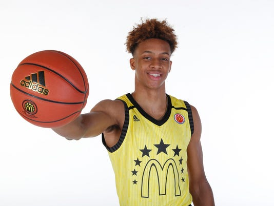 High School Basketball: McDonalds High School All American Portrait Day