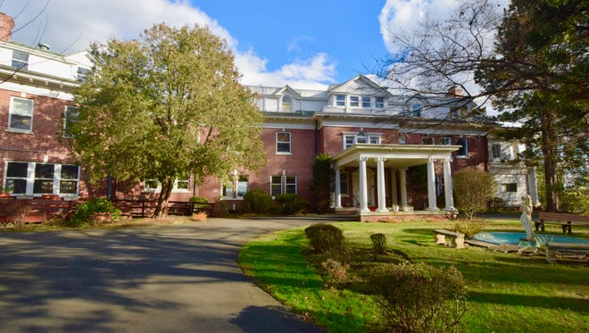 Shadowcliff, a historic neo-classical mansion overlooking the Hudson River, is on the market for $2.4 million.