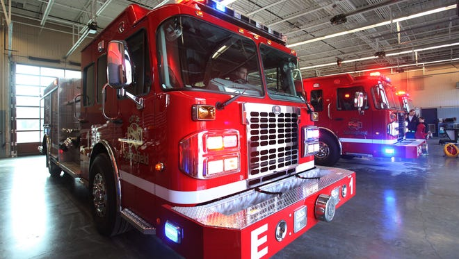 Trick-or-treaters are welcome at Springfield's 12 fire stations on Monday evening.