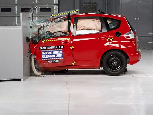 Only one small car passes tough crash test