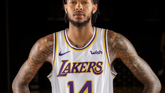 1aa269dd77f The Lakers officially unveiled their Showtime-inspired new uniforms