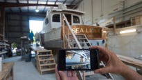 Iconic sportfishing vessel Sea Lion II is being rebuilt in the town in which it was born.