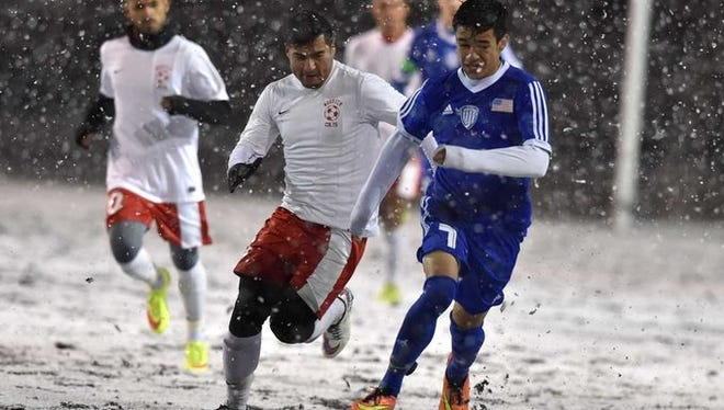 Carson beat Wooster for the North Div. I and state boys soccer titles.
