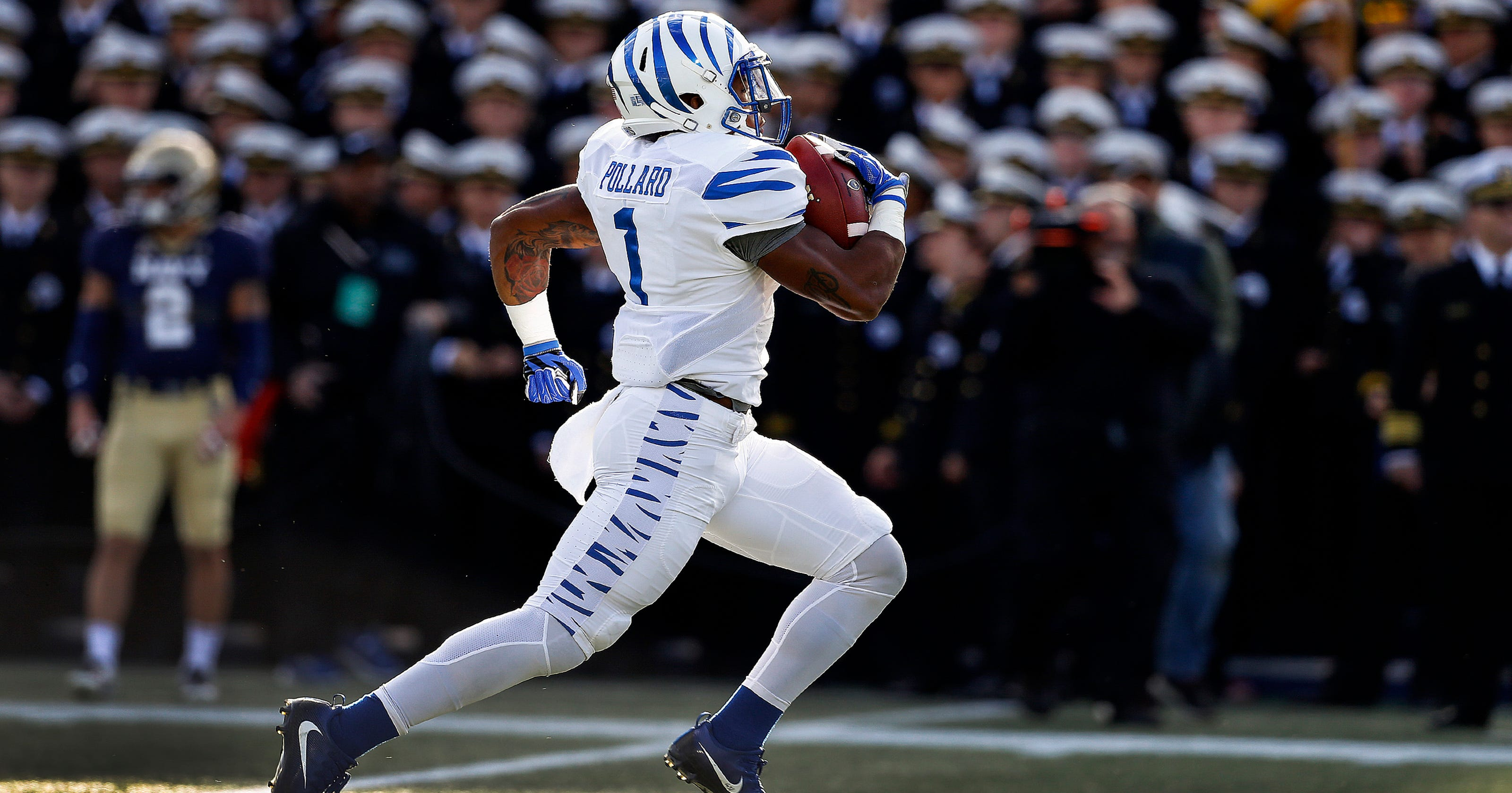 Three questions with Memphis running back Tony Pollard 5a72109ef