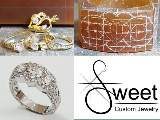 Sweet Custom Jewelry makes individual pieces by hand
