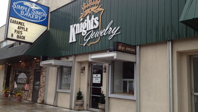 Knights Jewelry is at 220 E. Wisconsin Ave., Appleton.