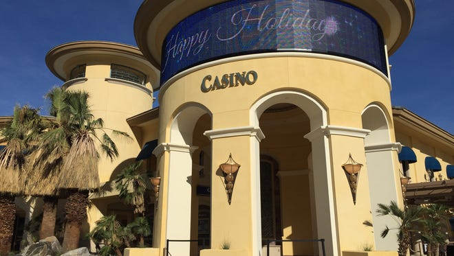 The Spa Resort Casino in Palm Springs completed the renovation of its south entrance, making it the casino's main entrance.