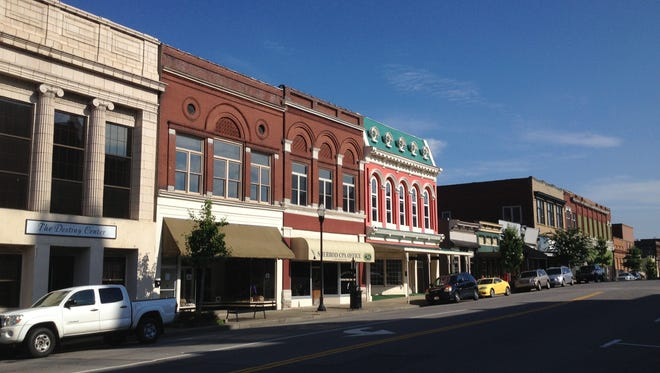 Springfield's downtown historic district.