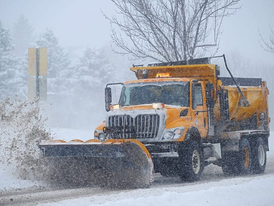 File photo: Sioux Falls Public Works snow plow