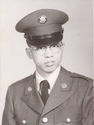 Andrew Wong's father, Sam, served in the U.S. Army.