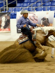 The sport of reining requires a solid partnership between horse and rider.