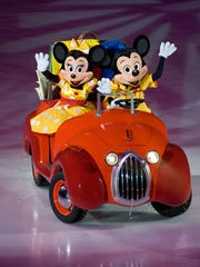 """""""Disney On Ice presents Worlds of Enchantment"""" will feature Mickey's dance-along pre-show, with the mouse that started it all, Mickey Mouse."""
