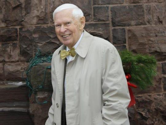 Robert Walters of Medina, president of the Medina Sandstone Society.