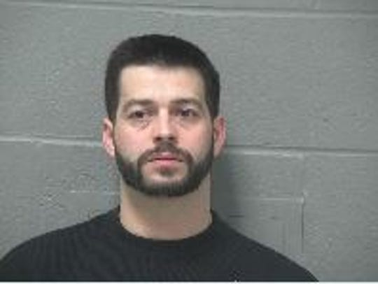 David Partin, 33, of Mansfield, was arrested and transported