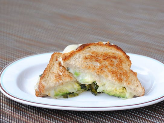 The California Grilled Cheese at Zuzu