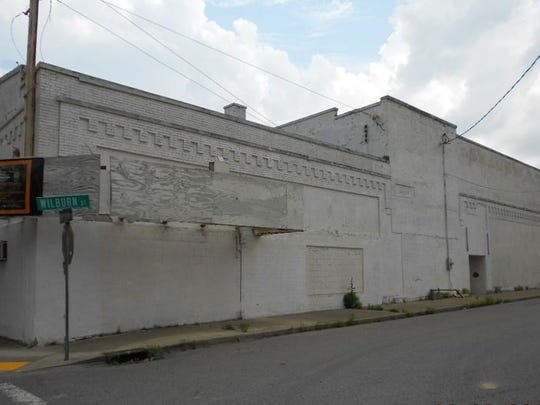 The historic former Roxy Theater at 827 Meridian St.