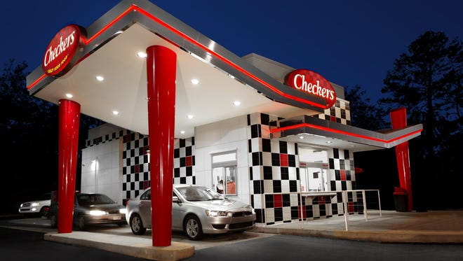 Prototype drive-through restaurants for Checkers and Rally's restaurants.