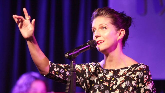 """A.J.  Lambert, seen performing at the Purple Room in Palm Springs, in December 2015, returns Friday to perform the songs of """"In the Wee Small Hours."""""""