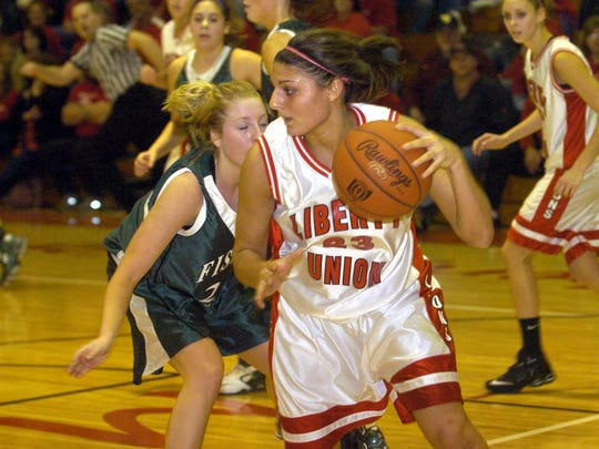 Michele Dobos was a standout basketball and volleyball player at Liberty Union.