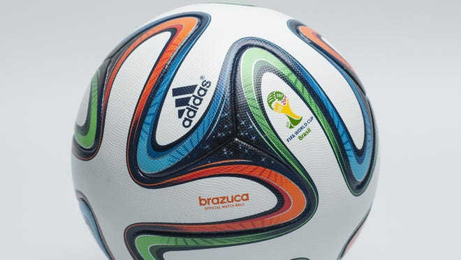 Adidas unveiled the 2014 FIFA World Cup match ball for Brazil.