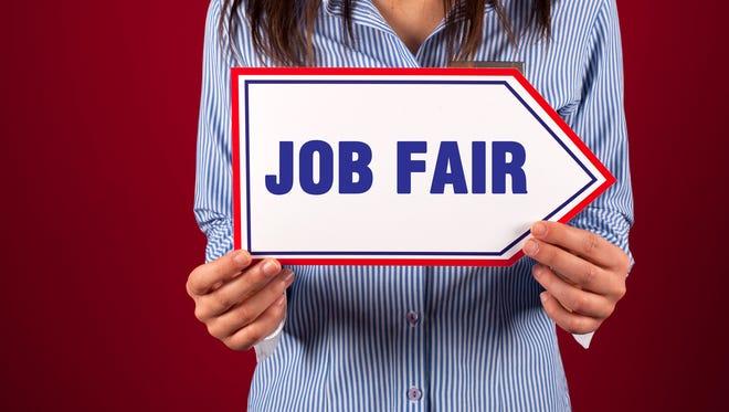 Job fair stock art