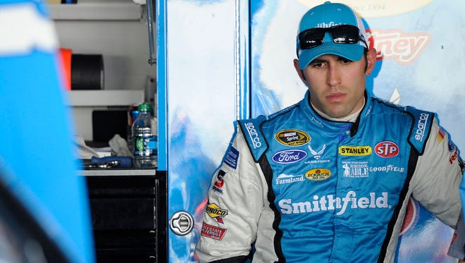 Sprint Cup Series driver Aric Almirola says it's hard to imagine a future that doesn't involve racing.
