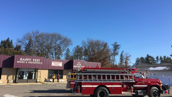 Firefighters are on scene at a Park Ridge business.