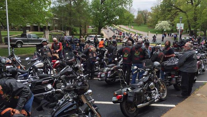 Dedication for the Missouri Vietnam Veterans Memorial