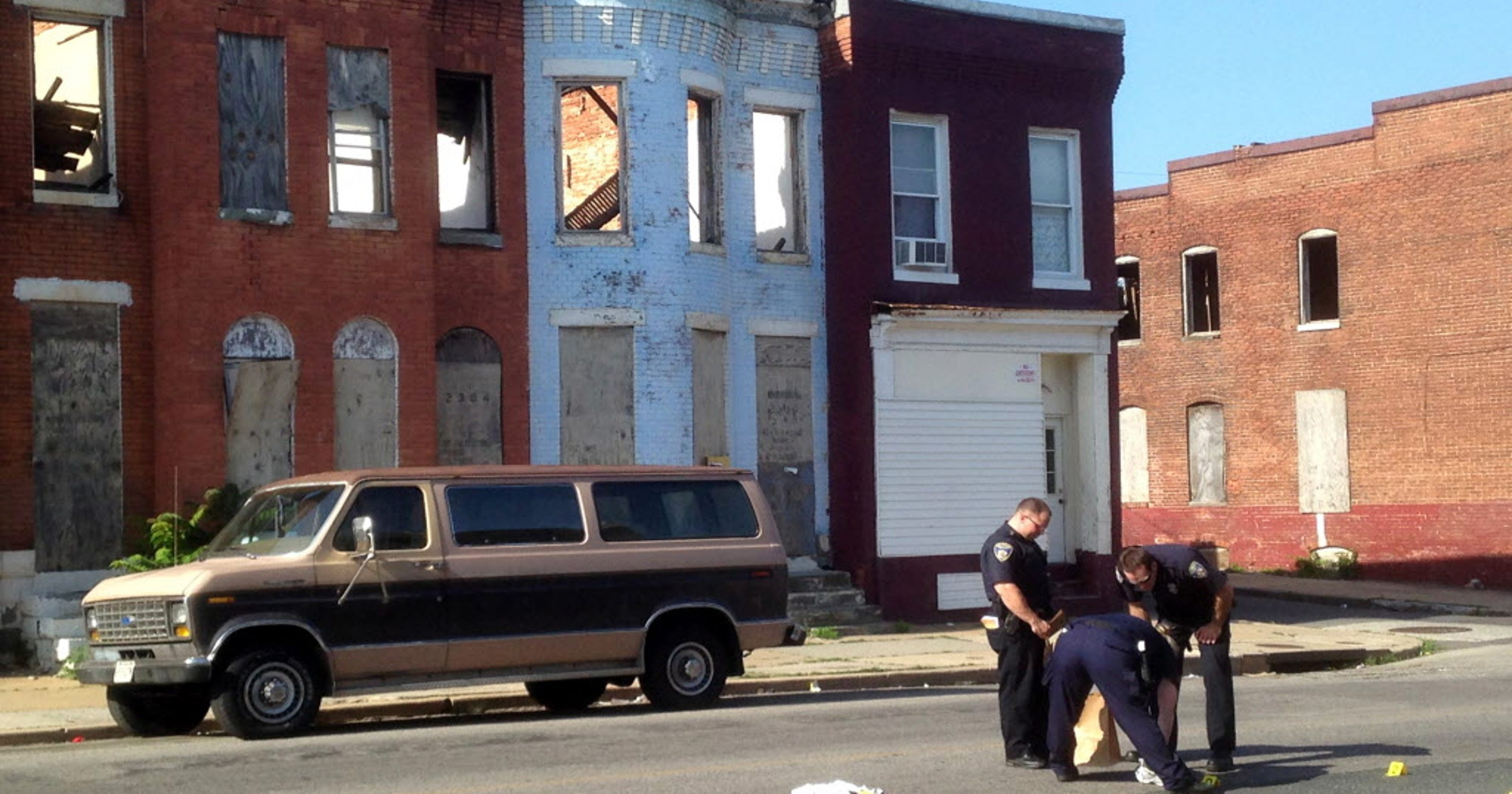 Baltimore Homicides In May Worst In Nearly 40 Years