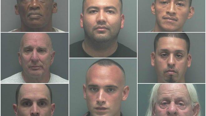 Men arrested in sting.