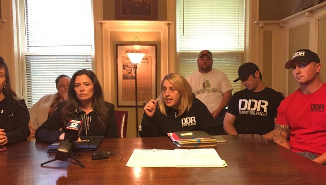 Detroit Dog Rescue leaders are demanding a meeting with Detroit Mayor Mike Duggan.