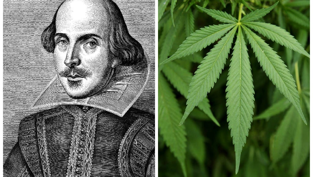 shakespeare may have smoked weed  study finds