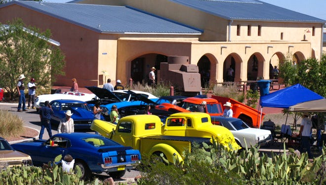 Hot rods, choppers, motorcycles, and vintage automobiles will be on display at the 12th annual Pancho's Car Show hosted by the Friends of Pancho Villa State Park on Saturday from 10:00 a.m. to 2:00 p.m.