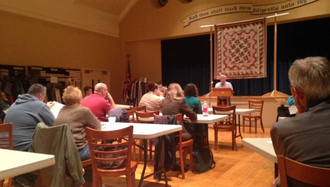 The first meeting was held on Oct. 28 at Union Lutheran Church in York.