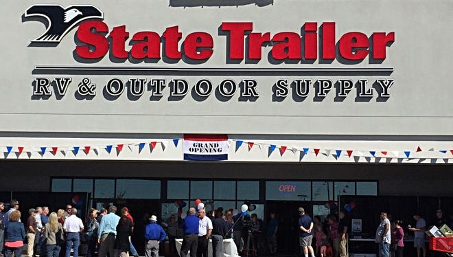 State Trailer RV & Outdoor Supply opened in November in Peoria, selling supplies for campers, RVs and camping. Here are five finds that anyone might like.