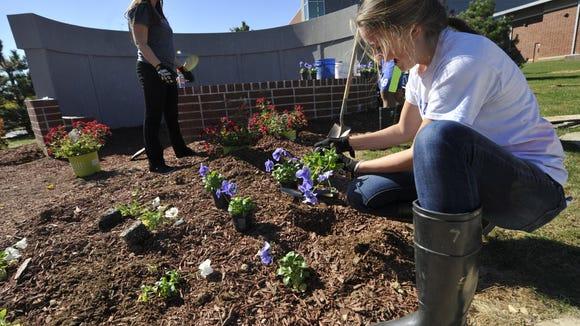 Spring Grove Area High School's Veterans Memorial Garden