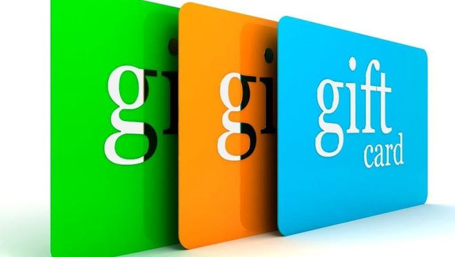 Gift cards are a popular holiday gift option.