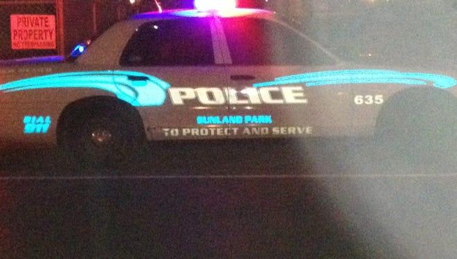 Sunland Park police car