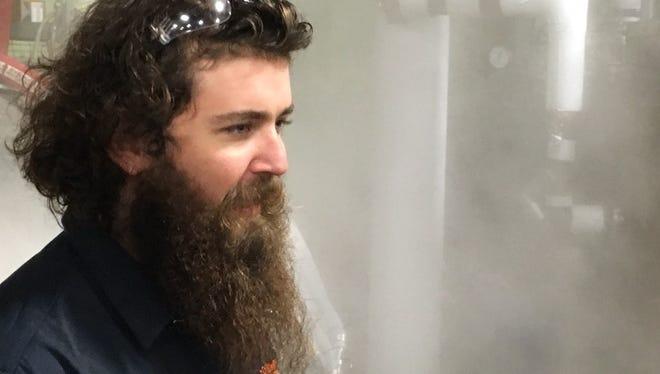 Logan Mayfield is head brewer at Ordnance Brewing.