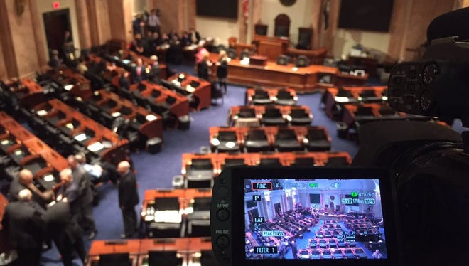 Live streaming Matt Bevin's State of the State address.