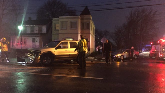 Two cars crash on Route 33 and Union Ave in #Neptune. Expect delays.