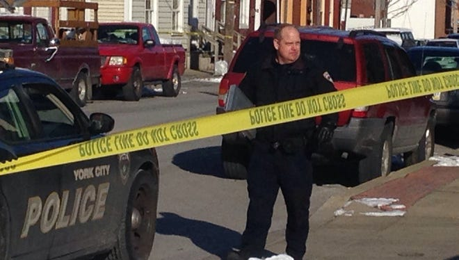 Police are investigating a shooting in York in the 200 block of South Queen Street Thursday morning.