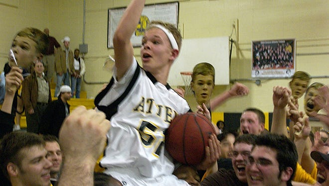 It has been 10 years since Jason McElwain's big night at Greece Athena.