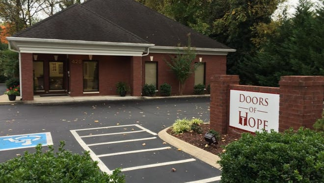 Doors of Hope is located at 428 E. Bell St. in Murfreesboro. The program strives to reduce recidivism rates in Rutherford County.