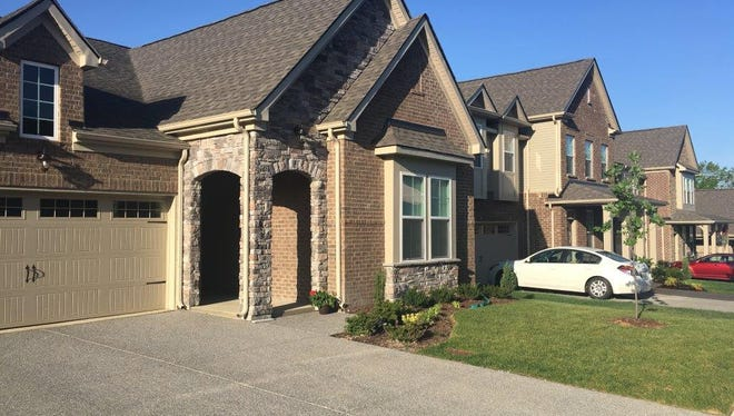 Beazer Homes is seeking to build 366 homes and townhomes such as this home at Tuscany Gardens subdivision in Mt. Juliet on land that the homebuilder has under contract in Hermitage.