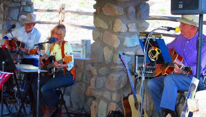 The Friends of Rockhound State Park, Inc., invite you to the Music at Rockhound July event at 6 p.m. on Saturday. The concert will be held in the park's group shelter. The park is located 13 miles south of Deming. Popular locals July McClure, Fred Williams and Gary Hart, known as The Desert Trio, will entertain with country, mountain and bluegrass music and song. Bring your lawn chairs and a picnic dinner if you so desire. This event is free and open to the public.  For more information, call the park at 575-546-6182 or visit the Friends site at Friendsofrockhound.org.